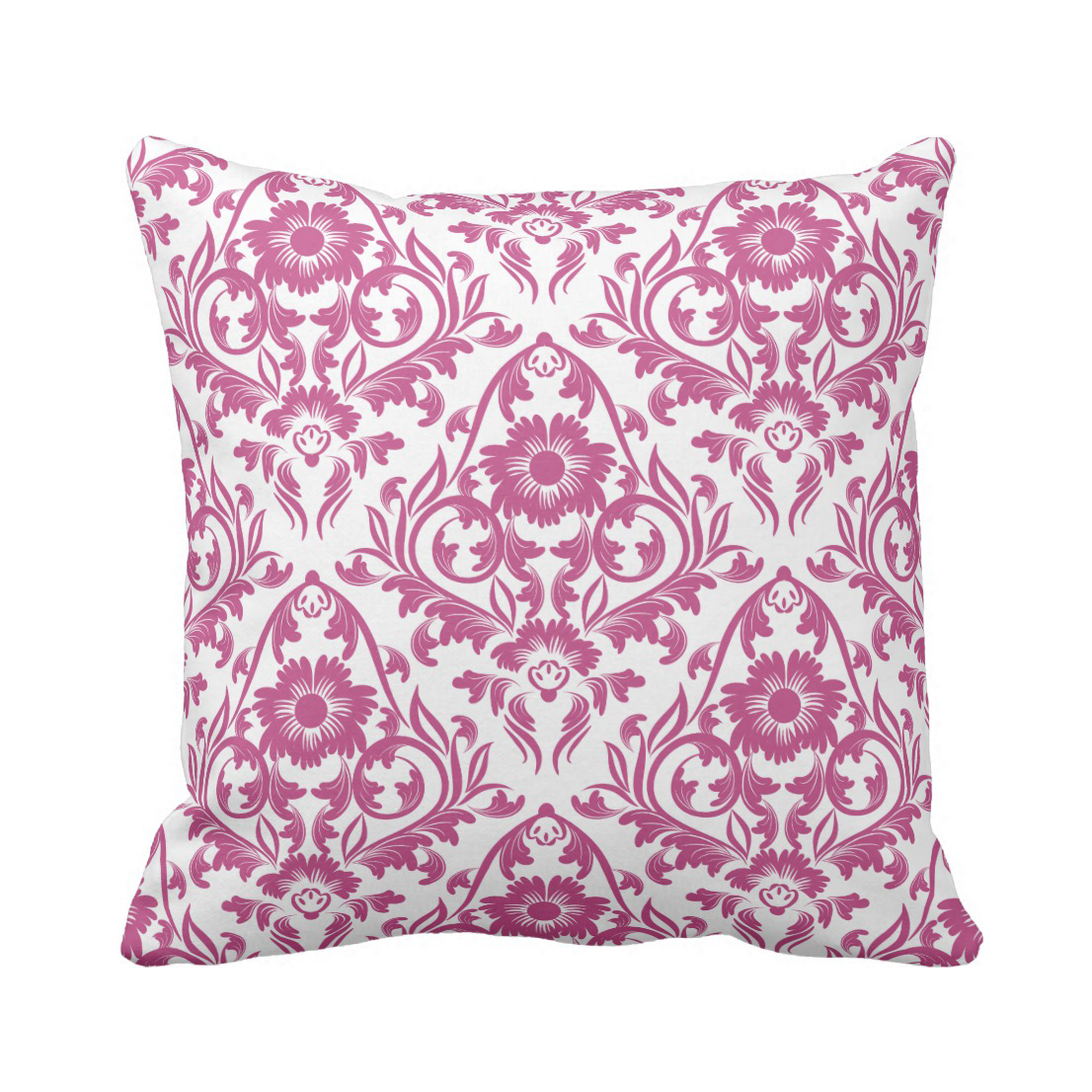 mulberry damask floral traditional pillow jomazzle
